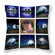Brian's Collage 2 Throw Pillow