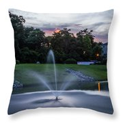 Briarcliffe Acres Sunset Throw Pillow