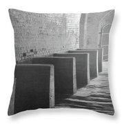 Brick And Stone Throw Pillow