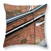 Brick Car Throw Pillow