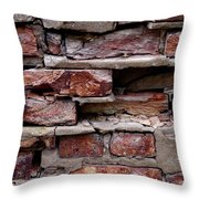 Brickbats Throw Pillow by Tim Good