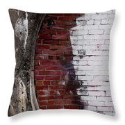 Bricked In Throw Pillow by Tim Good