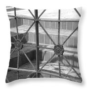 Bricks And Iron Throw Pillow