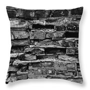 Bricks And Mortar Throw Pillow by Tim Good