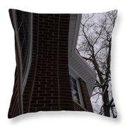 Bricks And Windows Throw Pillow