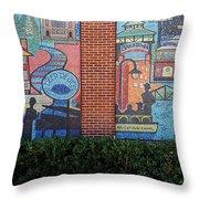 Bricktown Mosaics Throw Pillow