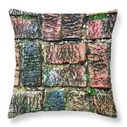 Brickwork#1 Throw Pillow