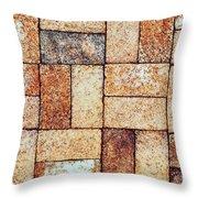 Brickwork#2 Throw Pillow