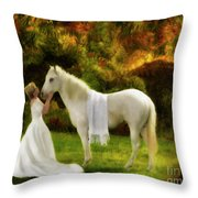 Bridal Revival Throw Pillow