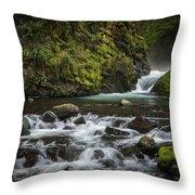 Bridal Veil Creek Throw Pillow