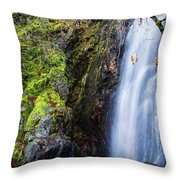 Bridal Veil  Falls 3 Throw Pillow