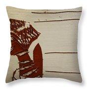 Bride 1 - Tile Throw Pillow