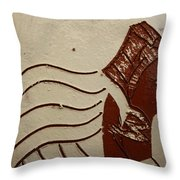 Bride 10 - Tile Throw Pillow