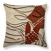 Bride 11 - Tile Throw Pillow