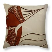 Bride 3 - Tile Throw Pillow