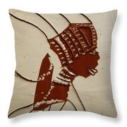 Bride 4  - Tile Throw Pillow