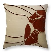 Bride 6 - Tile Throw Pillow