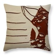 Bride 8 - Tile Throw Pillow