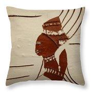 Bride 9 - Tile Throw Pillow
