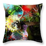 Bride Of Halos Throw Pillow