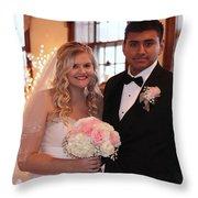 Brideandgroom Throw Pillow