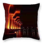 Bridge 1 Throw Pillow