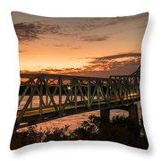 Bridge 8 Throw Pillow