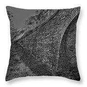 Bridge Abstraction Throw Pillow