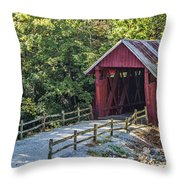 Bridge Across Time Throw Pillow