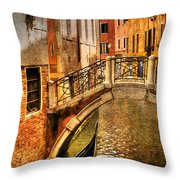 Bridge Ahead Throw Pillow