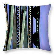 Bridge Throw Pillow