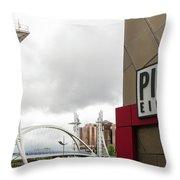 Bridge And Pier Eight Throw Pillow