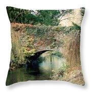 Bridge At Blarney Castle Throw Pillow