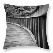 Bridge At Calloway II Throw Pillow