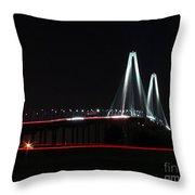 Bridge Blur - Digital Art Throw Pillow