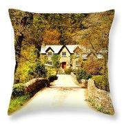 Bridge Cottage Throw Pillow