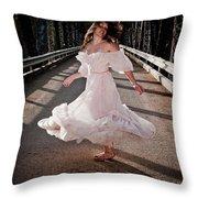 Bridge Dancer Throw Pillow