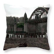 Bridge Deco Throw Pillow