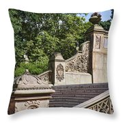 Bridge Detail Throw Pillow