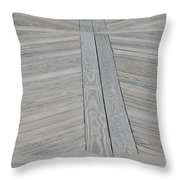 Bridge Floor Throw Pillow