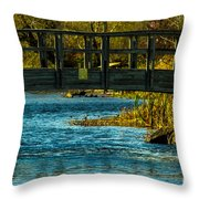 Bridge For Lovers Throw Pillow
