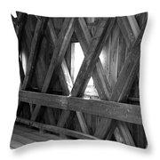 Bridge Glow Throw Pillow