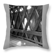 Bridge Glow Throw Pillow