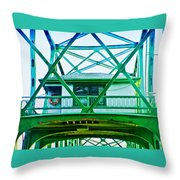 Bridge House Throw Pillow