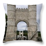 Bridge La Caille - Rhone-alpes Throw Pillow