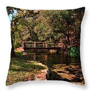 Bridge Of Harmony Throw Pillow