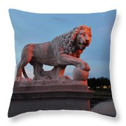 Bridge Of Lions 2 Throw Pillow