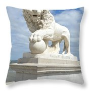 Bridge Of Lions II Throw Pillow