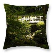 Bridge Of Peace Throw Pillow
