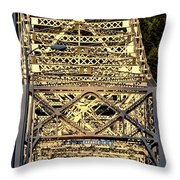 Bridge Of The Gods Throw Pillow